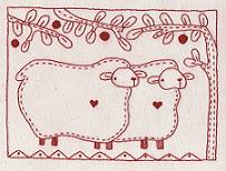 Cotton Country Quilt- sheeps