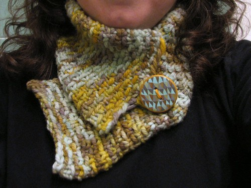 Finished neckwarmer