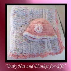 Blanket and Baby Hat
