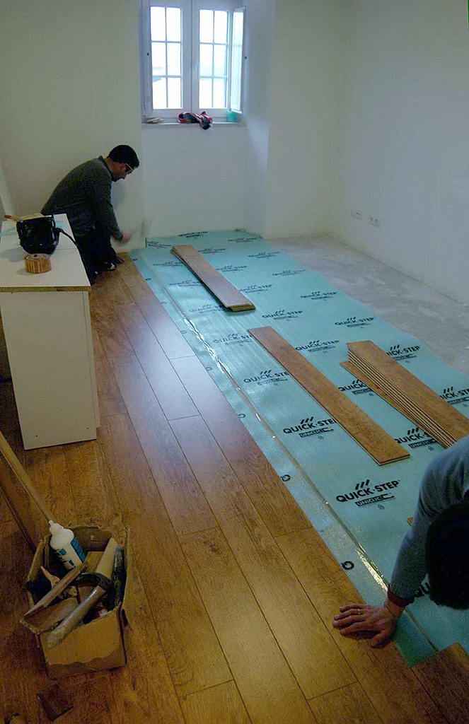 Laying the Floors