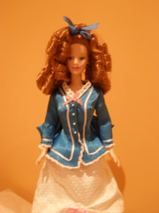 One of Maaria's dolls