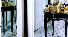Penny Tile Floor (Bill Lim) Tags: white house black home tile bathroom floor penny renovation remodel floret