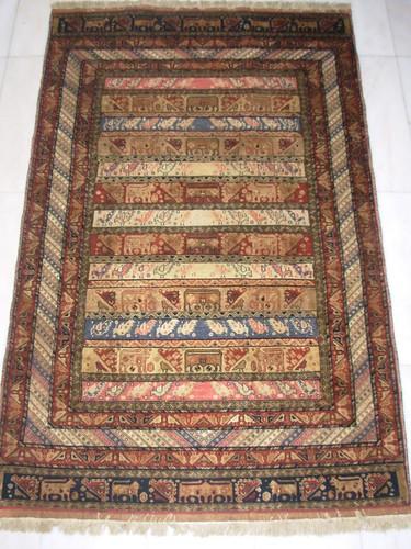 #595 Mashad Kilim & carpet