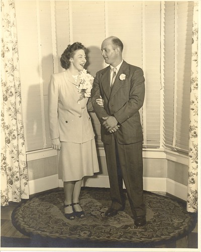 Grandma & Grandpa Miller - July 1947