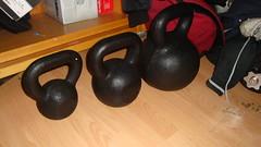 Kettlebells 10kg(22lb), 20kg(44lb), 50kg(110lb) (Popjesto) Tags: bell russia kettle workout weight kettlebell 50kg 20kg 10kg