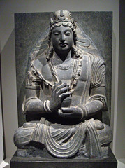 Seated Bodhisattva Maitreya (Buddha of the Future) (peterjr1961) Tags: nyc newyorkcity newyork afghanistan art museum asian afghan themet metropolitanmuseumofart