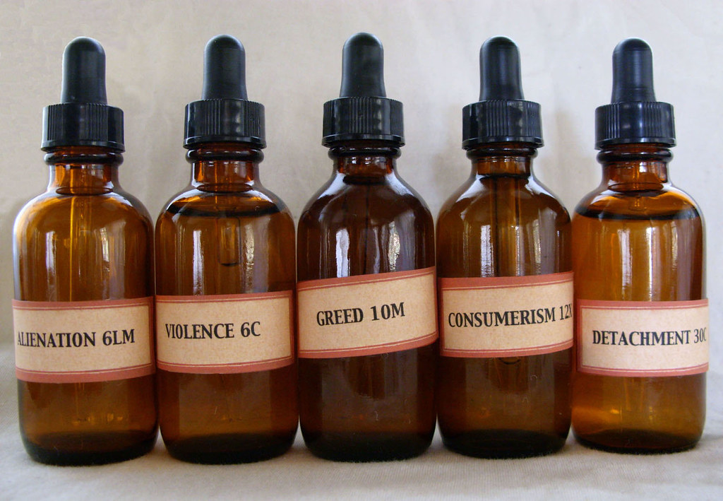 homeopathic remedies for the 5 ills of society