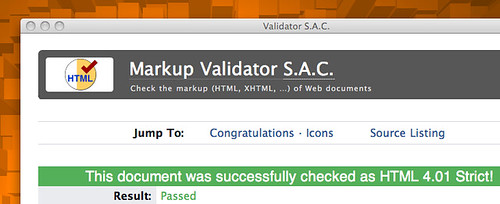 w3c validateur