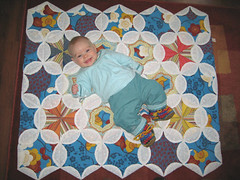 quilt from Tante Leanne