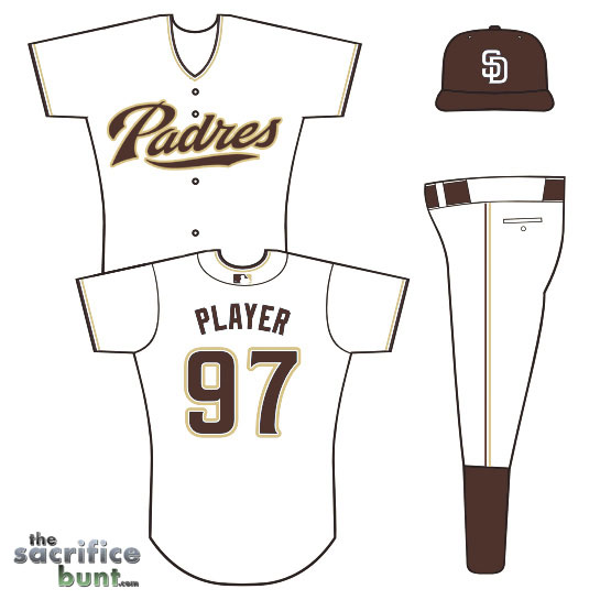 Padres Concept Jersey