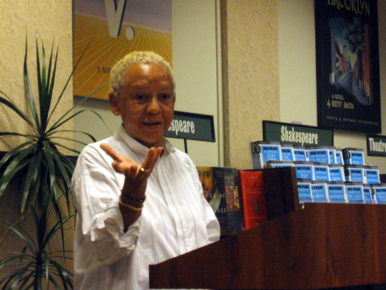 Nikki Giovanni Gestures (Click to enlarge)