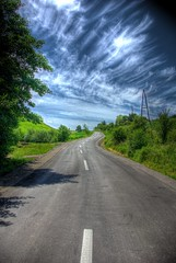 Life is a open, never ending Road (Mylos pics) Tags: road sky colors bosnia hdr bih bosna pentaxk10d anawesomeshot donjipetrovii