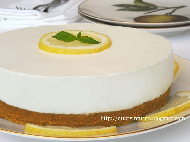 Cheesecake Fredda al Limone