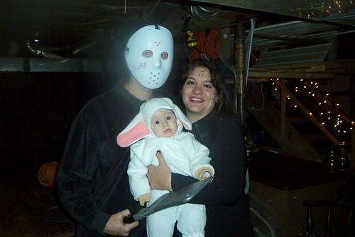 Bella's first Halloween.