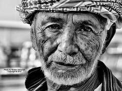 """Tired smile ! (CLICK GROUP معين الشريف Moeen) Tags: معين السعودية ناس بورتريه وجه blackwhitephotos نيكون الشريف المملكةالعربيةالسعودية جيزان وجوه ابيضواسود جازان احادي """"flickraward"""" الهويدي"""