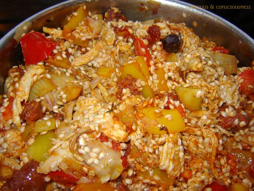Chicken & Chorizo Paella 3, edited