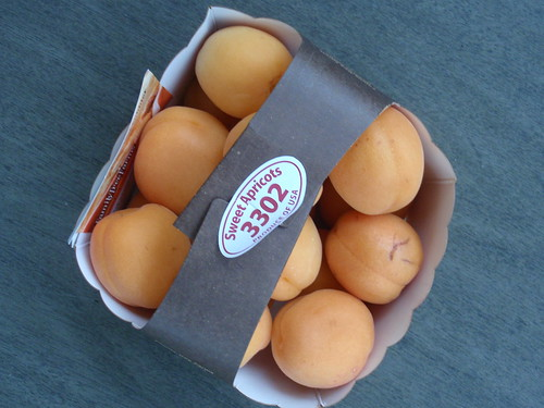 My First Fresh Apricots
