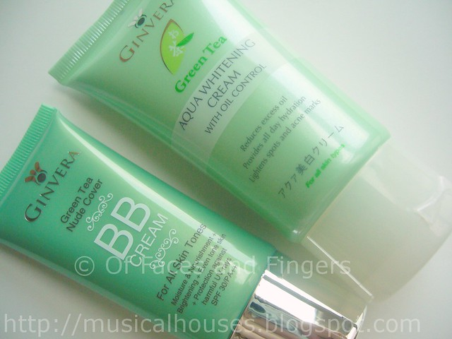 ginvera aqua whitening BB cream