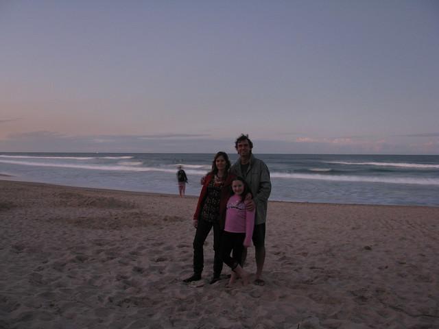 Dusk on the Beach
