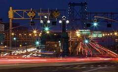 Traffic Lights 3 (jeff10ct) Tags: city nyc newyork lights traffic lighttrails
