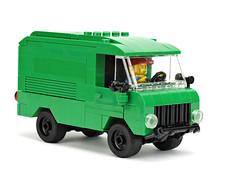 "Delivery Van ""OGRE"" (de-marco) Tags: car truck lego delivery van furgon"