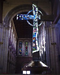 St Anne's Cathedral (JulesCanon) Tags: cameraphone nokia cathedral interior belfast stannescathedral n95 cathedralquarter aplusphoto amazingdetail stunningbuilding 7daysofshooting killingtimebeingawed goingbackagaindefinitely psychedelicsaturday week1glassnotplastic