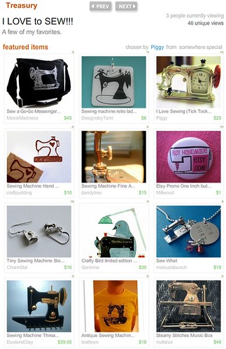 Charm Star in Sewing Treasury