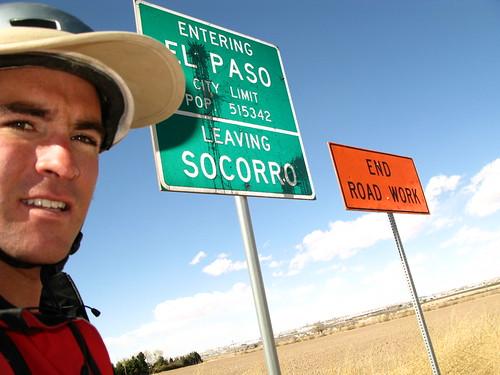 El Paso at last, Texas, USA