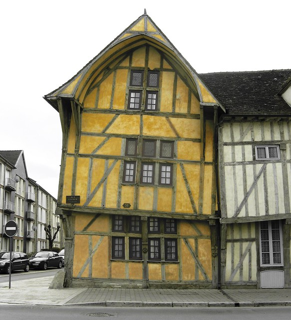 Crooked Yellow House
