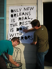 Only New Orleans is Real, the rest is done with mirrors
