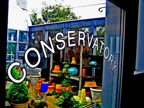 conservatory door