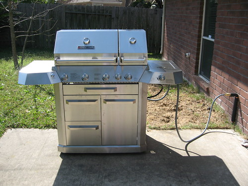 The New Gas Grill