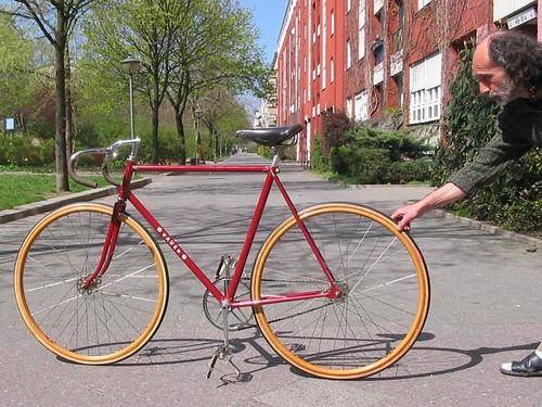 Bauer Track-Bike