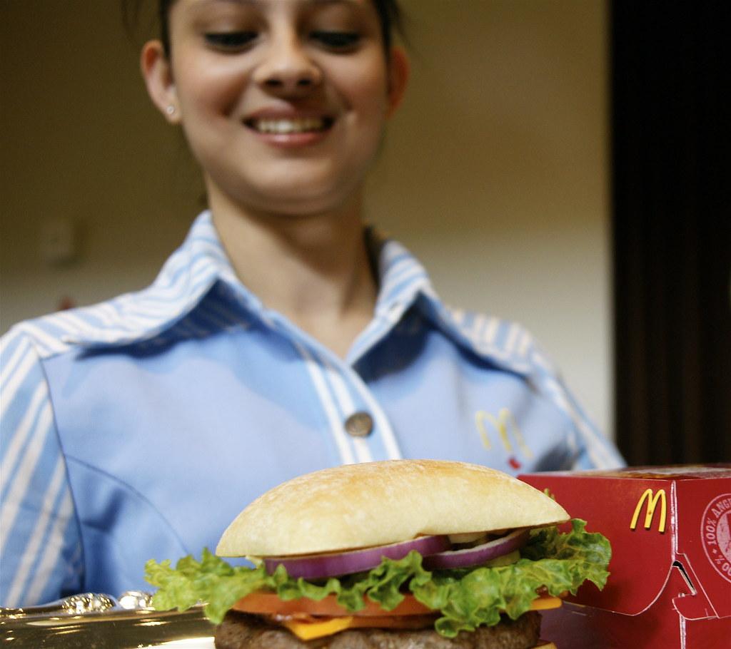 McDonald's Angus Burger Unveiled