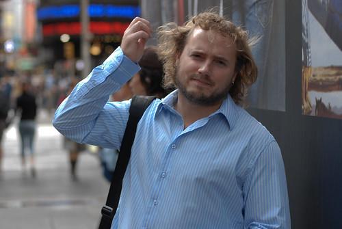Jon in the city
