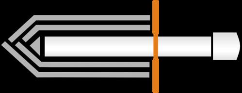 Sparring Knife Diagram