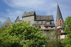Limburg Dom backside (Rob de Hero) Tags: church germany deutschland hessen cathedral dom altstadt oldtown limburg georgsdom saintgeorgescathedral