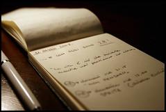 16 Maggio 2008 (Sartori Simone) Tags: birthday wood moleskine pen notes oscarwilde appunti compleanno penna legno allrightsreserved may16th simonesartori 16maggio