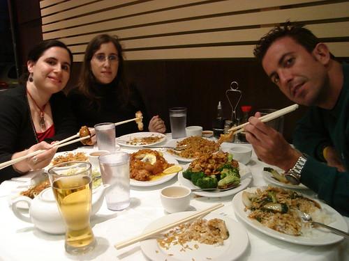 Cenando en Chinatown (Toronto)