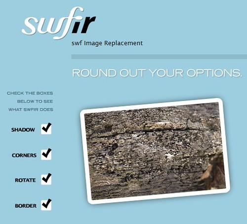 Reemplazar imágenes y texto HTML con Flash | Tutorial sIFR 3 y swfIR ceslava 2