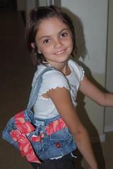 Abby stylin' with her designer Prada purse