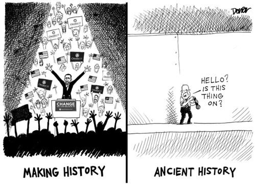 barack obama john mccain cartoon