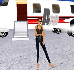 Airport3 (Channen GossipGirl) Tags: airport costarica modeling sl secondlife httpchannenggblogspotcom bohobabe