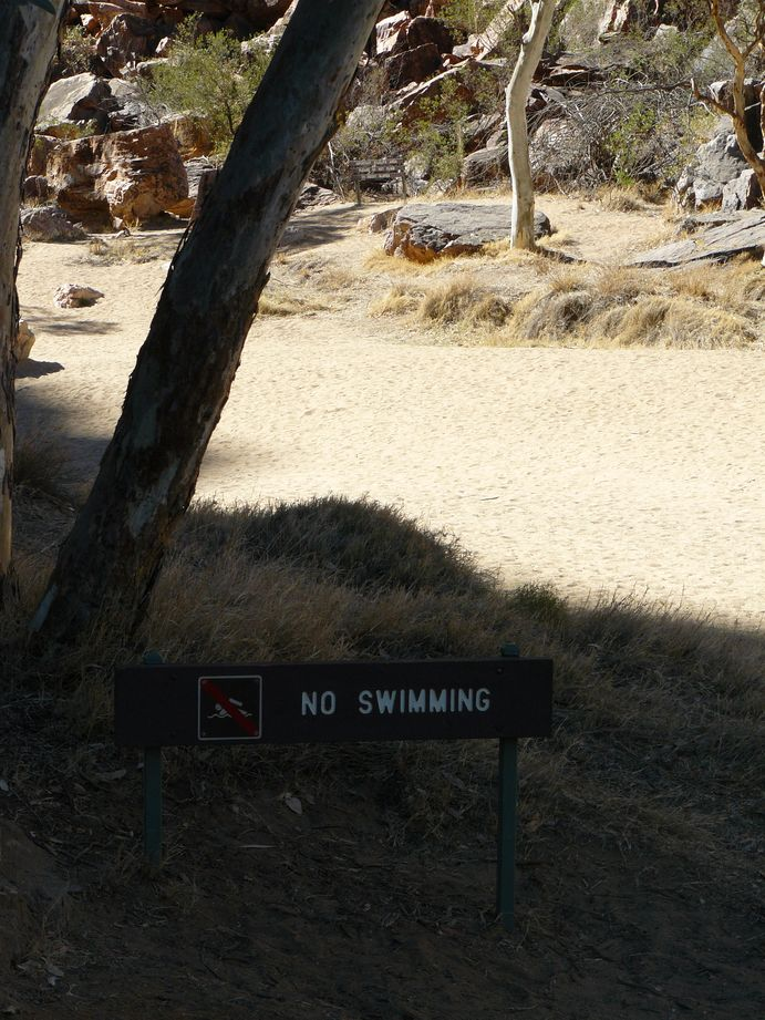 Australie #25 : riviere à sec