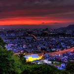 Fukushima city view