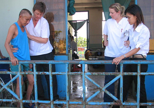 Teaching Physiotherapy in Vietnam