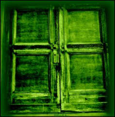 a green cross door (ziggywiggy1(SHELLIE B.)) Tags: nyc green buildings doors decay manhattan churches streetscenes blueribbonwinner supershot flickrcolour mywinners abigfave showmemagic sacredimagery