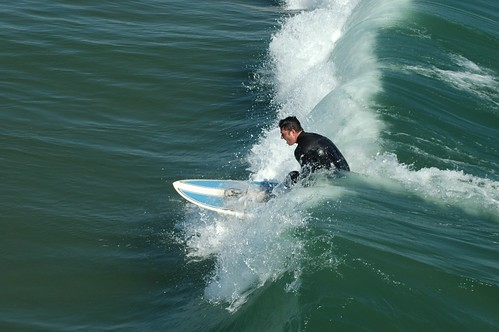 surfing in venice beach california