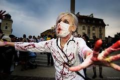 Zombie Walk Warsaw 2008