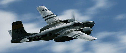 Warbird picture - B26 - Duxford 08